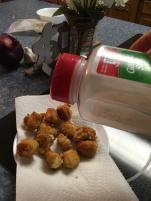 Add garlic salt
