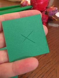 cut the X