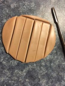 cut the shape out